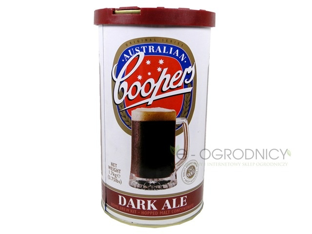 COOPERS Koncentrat do wyrobu piwa DARK ALE  1,7 kg